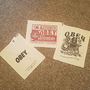Obey duster bags